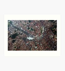 Lisbon from Above               Portugal Art Print