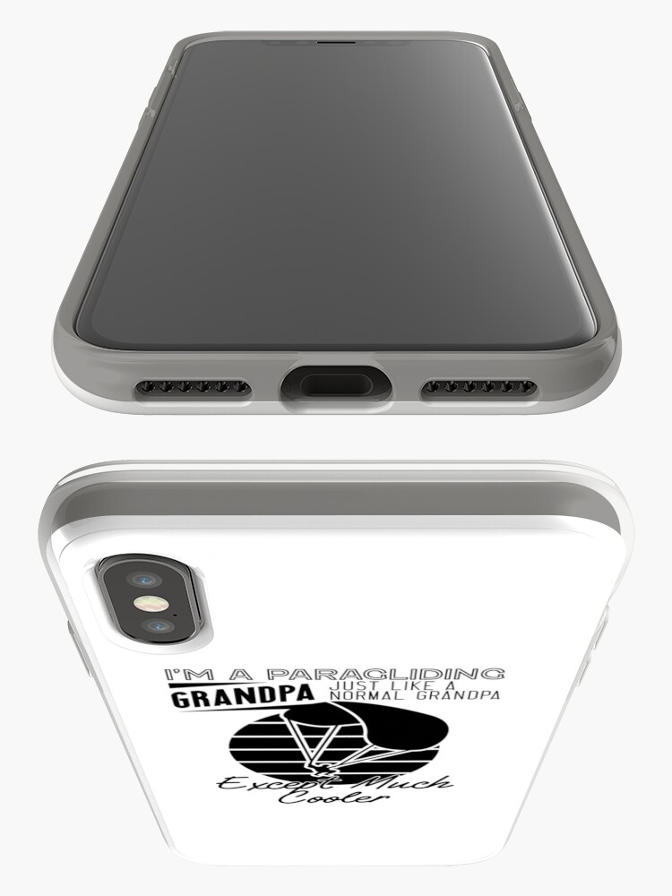 Alternate view of Cool Paragliding Grandpa iPhone Case & Cover