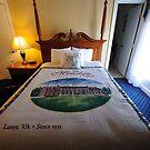 bed at the mimslyn inn on the 4th by Deweyreg