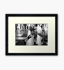 I believe that you was in... Framed Print