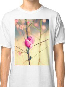Textured Bloom Classic T-Shirt