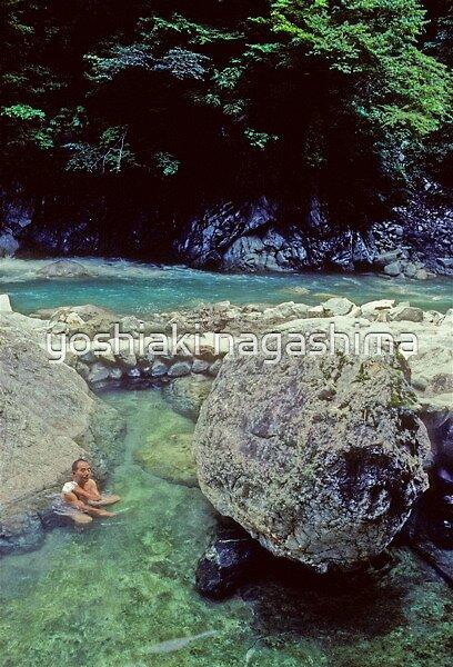 Japanese hot springs, Kurobe  onsen, Japan by yoshiaki nagashima