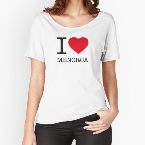 I LOVE MENORCA Loose Fit T-Shirt