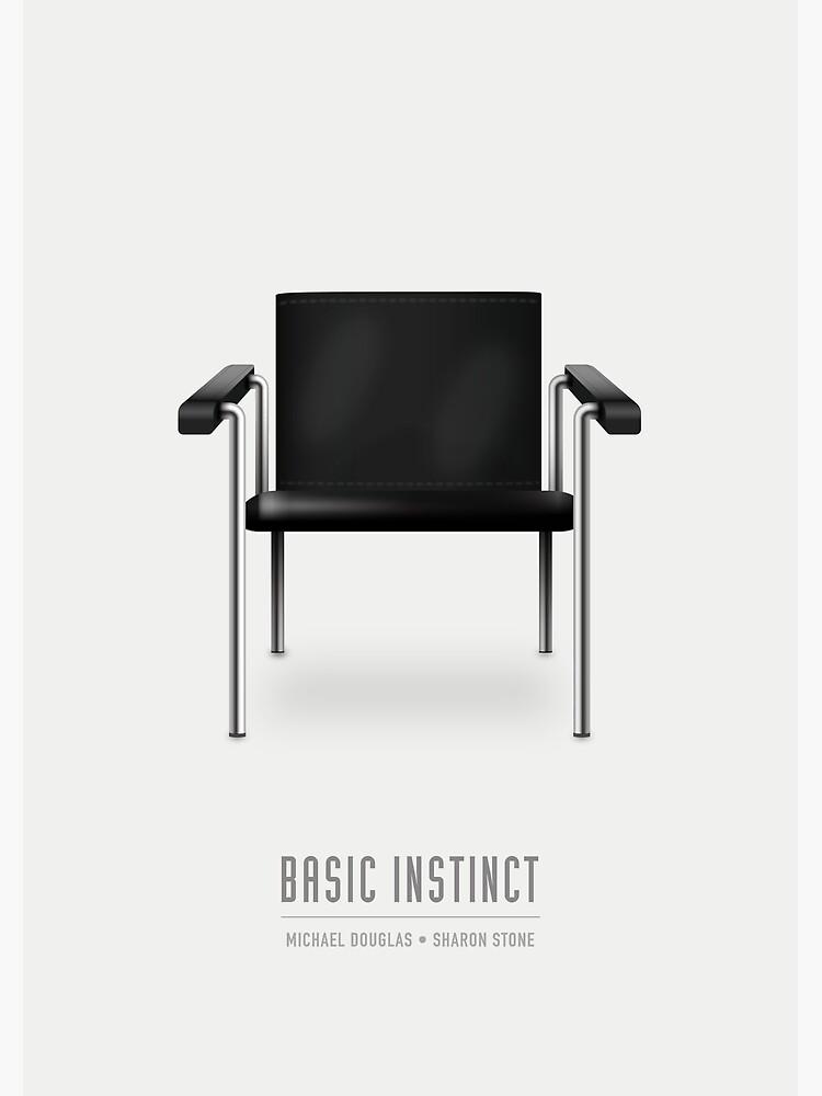 Basic Instinct - Alternative Movie Poster by MoviePosterBoy