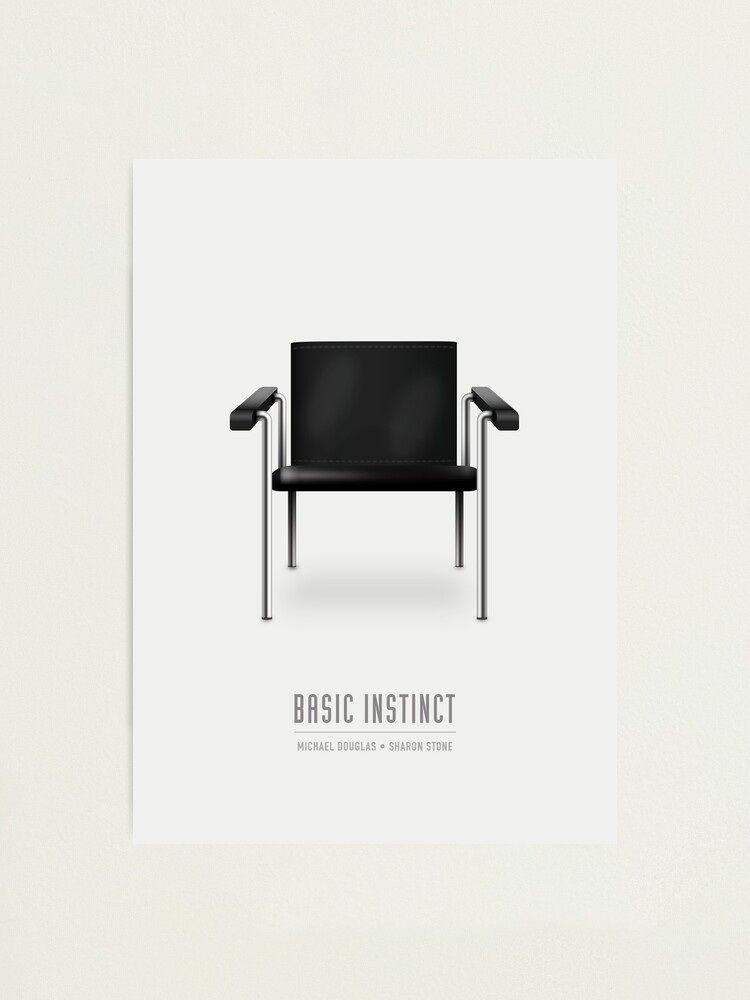 Alternate view of Basic Instinct - Alternative Movie Poster Photographic Print