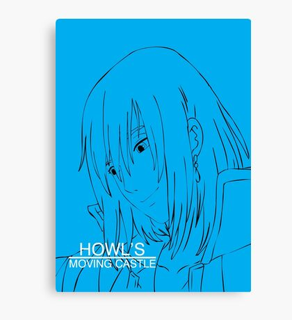 Howl's Moving Castle - Howl Canvas Print