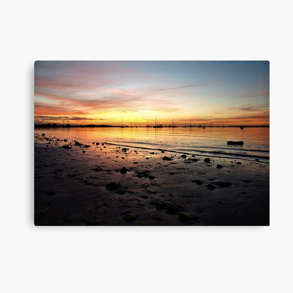 Setting Sun - Palm Beach - Western Australia Canvas Print