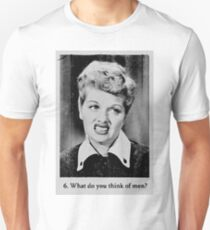 Lucille Ball - What Do You Think Of Men? T-Shirt