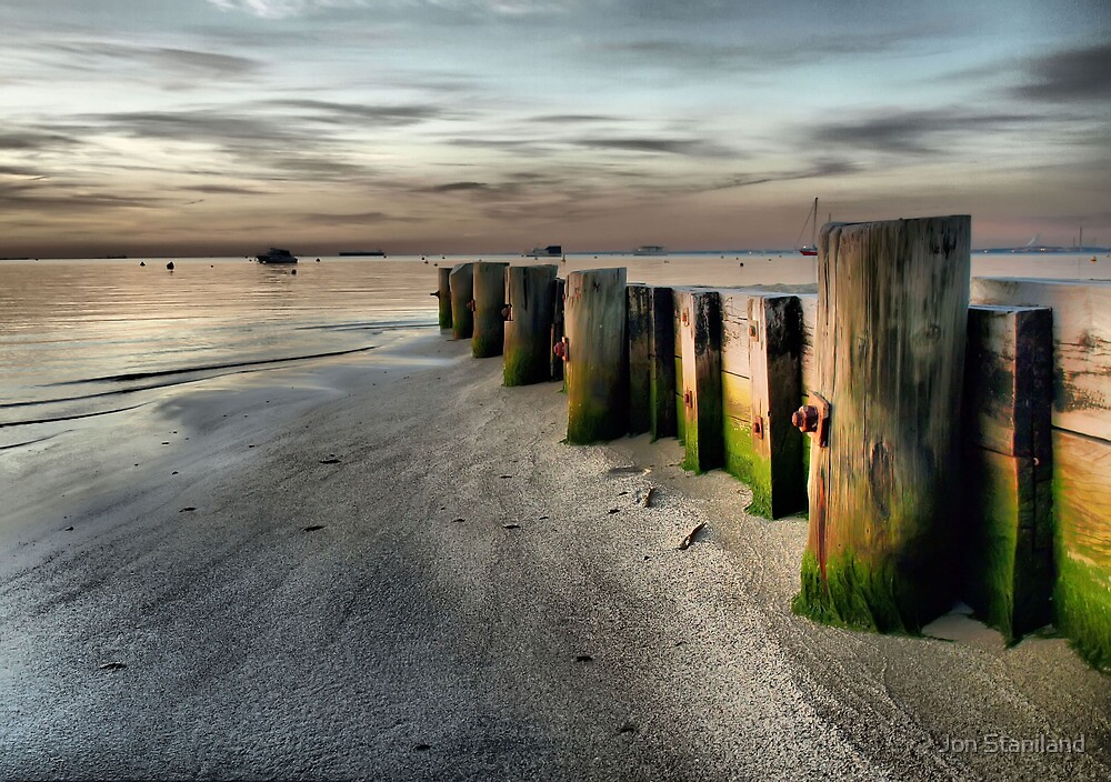 Break Water - Palm Beach - Western Australia by Jon Staniland