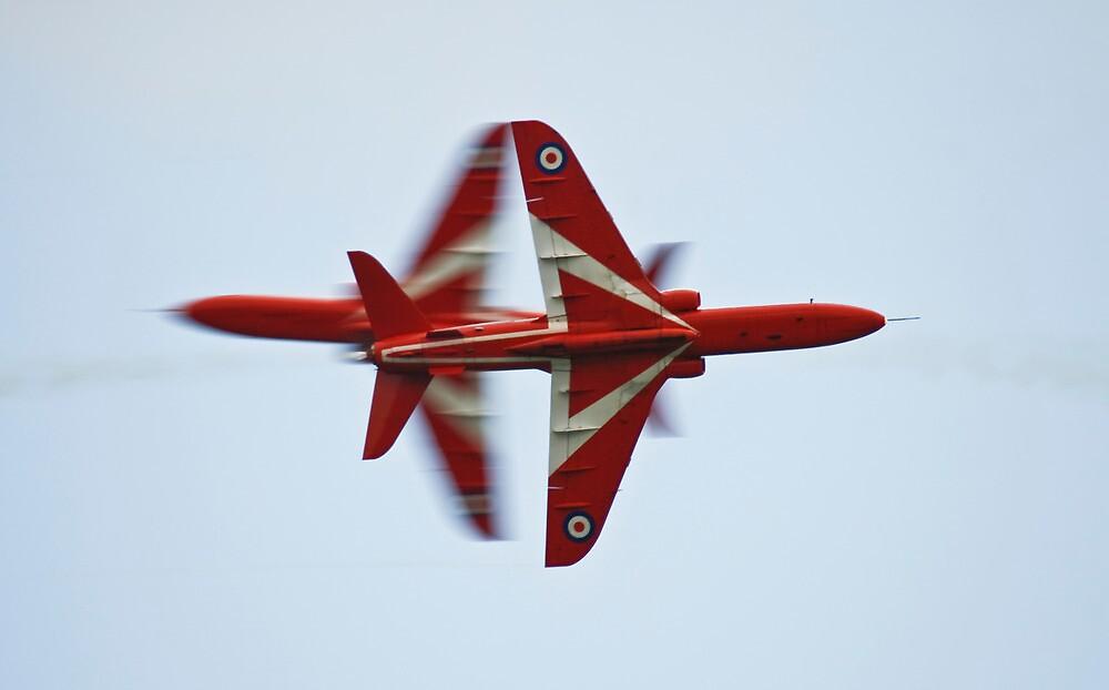 Red Arrows Cross by PhilEAF92