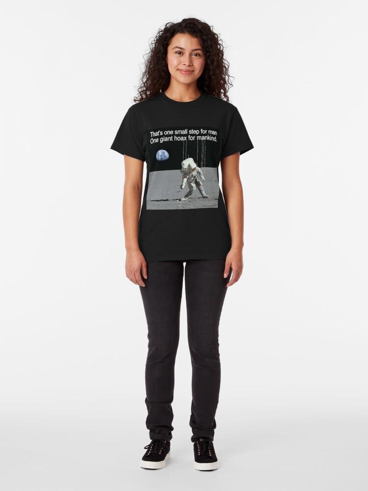 Alternate view of Moon Beams Classic T-Shirt