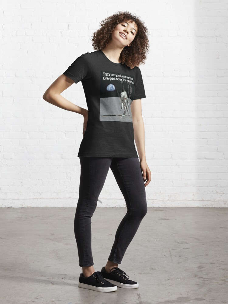 Alternate view of Moon Beams Essential T-Shirt