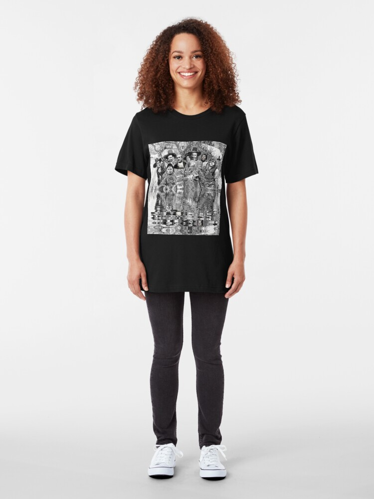 Alternate view of Witch Hunt: The Verdict Slim Fit T-Shirt