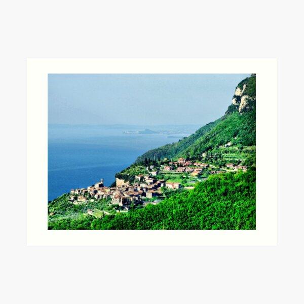 Tignale. Lake Garda. Art Print