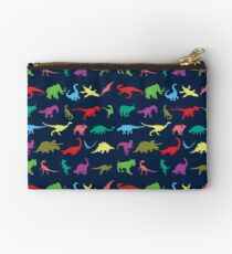 Colorful Mini Dinosaur  Studio Pouch