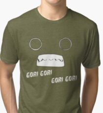 Yuri Kuma Arashi Gori Gori Tri-blend T-Shirt
