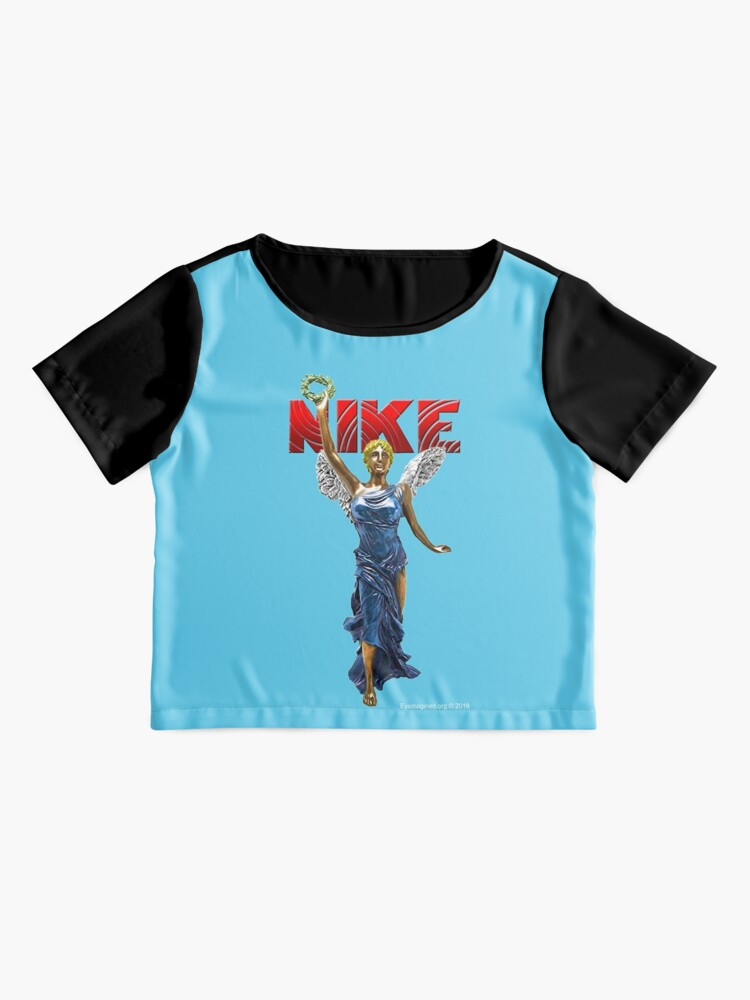 Alternate view of Nike Goddess of Victory Chiffon Top