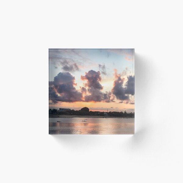 Madagascar Sunset Acrylic Block
