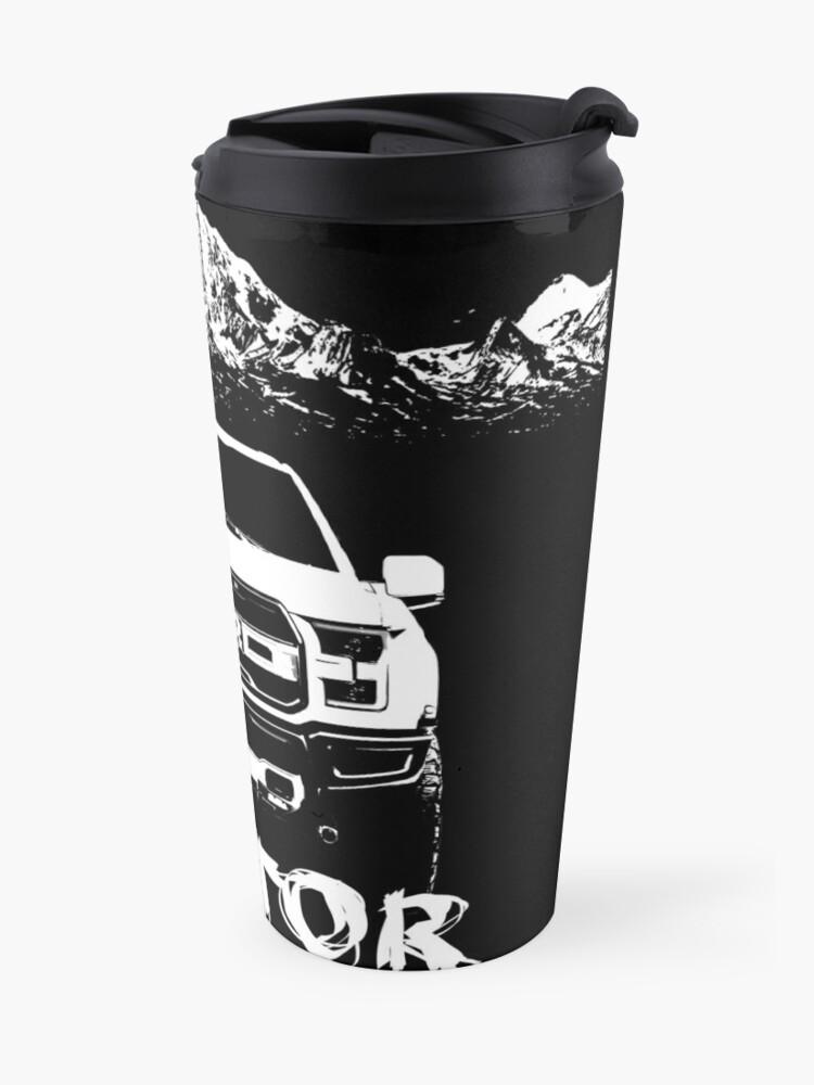 Alternate view of ford f 150 raptor Travel Mug