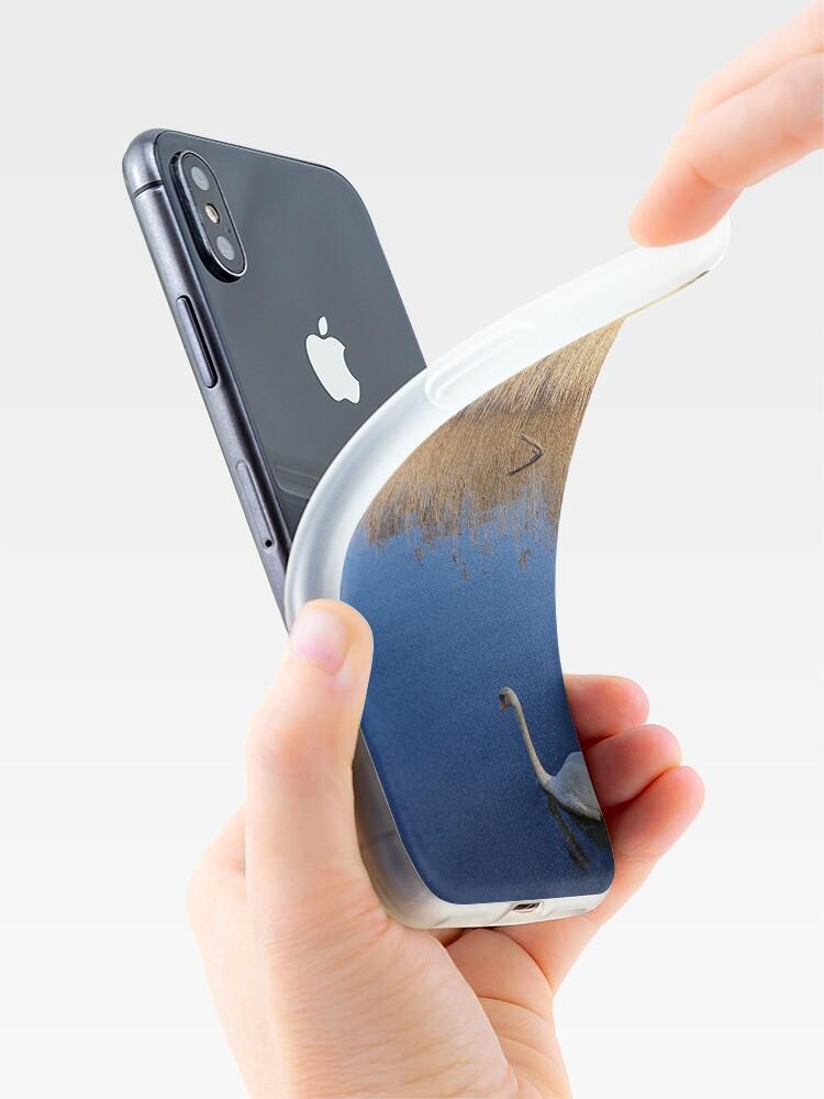 Alternative Ansicht von Schwäne iPhone-Hülle & Cover