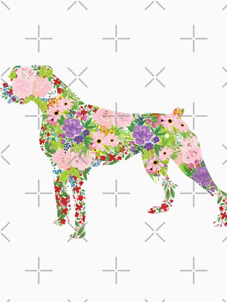Floral Boxer by tribbledesign