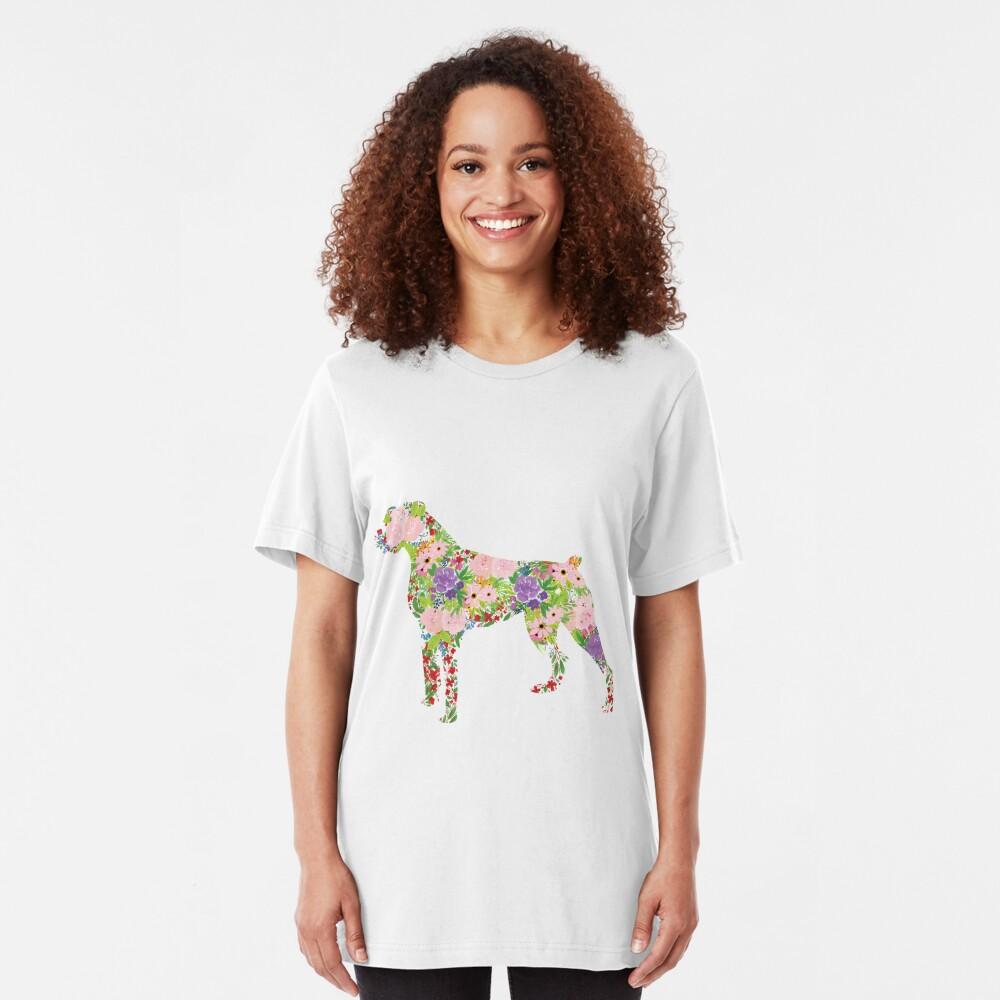 Floral Boxer Slim Fit T-Shirt