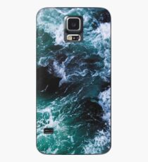 Blue Ocean Waves, Sea Photography, Seascape Case/Skin for Samsung Galaxy