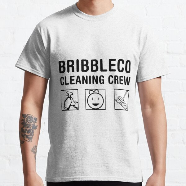 Roblox Cleaning Simulator - Cleaning Crew Classic T-Shirt