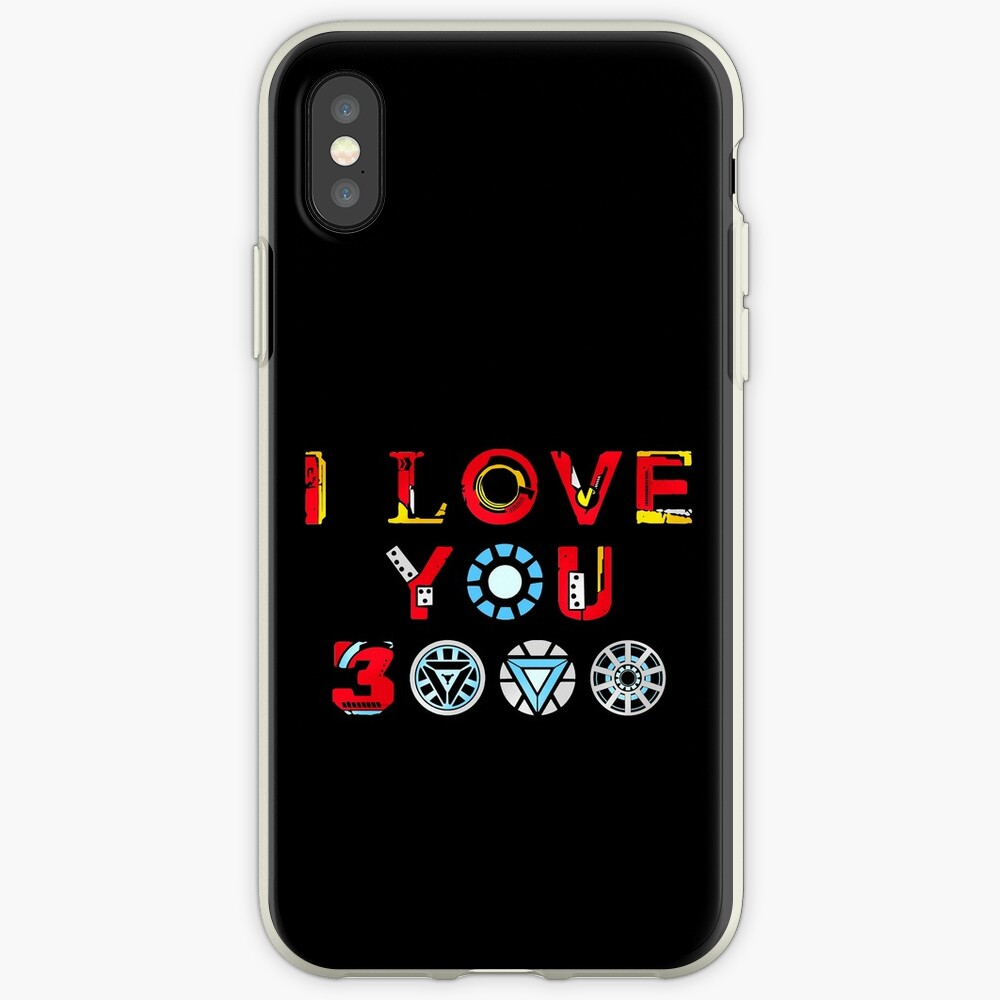 I Love You 3000 v3 iPhone Cases & Covers