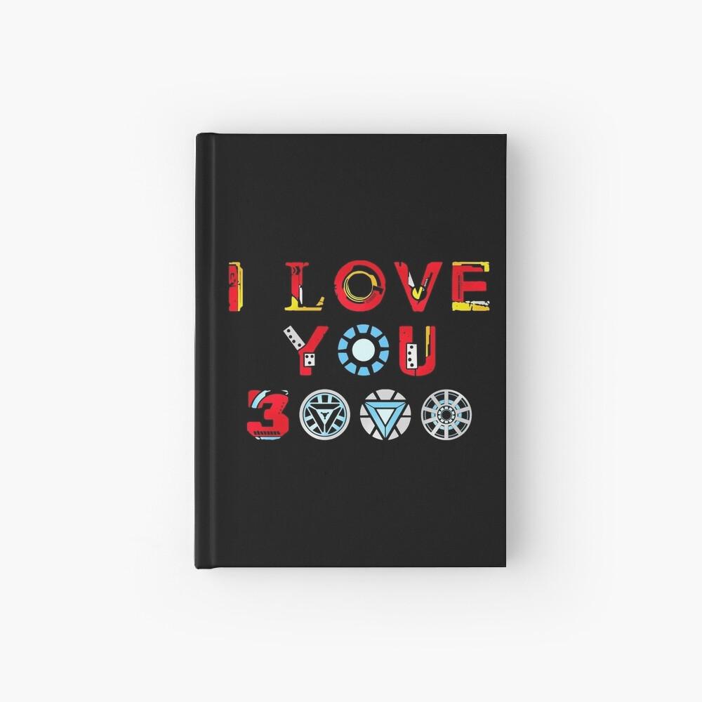 I Love You 3000 v3 Hardcover Journal