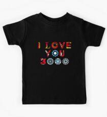 Camiseta para niños Te amo 3000 v3