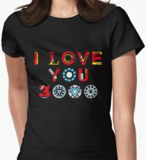 I Love You 3000 v3 Women's Fitted T-Shirt