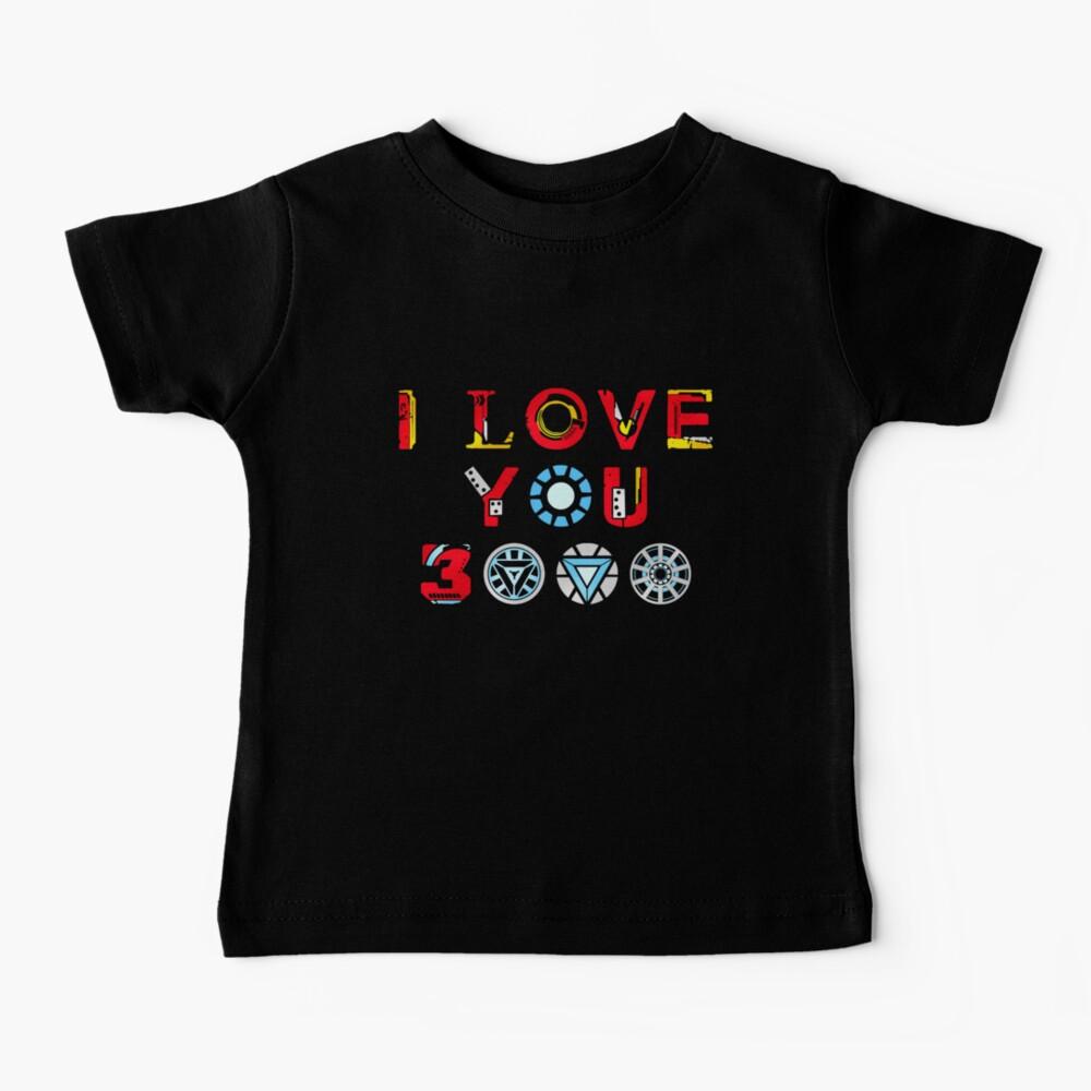 I Love You 3000 v3 Baby T-Shirt