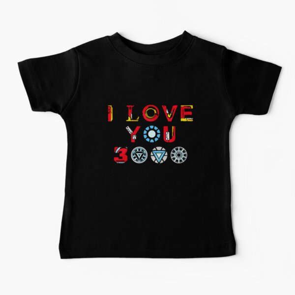 I Love You 3000 v3 Baby T-Shirt