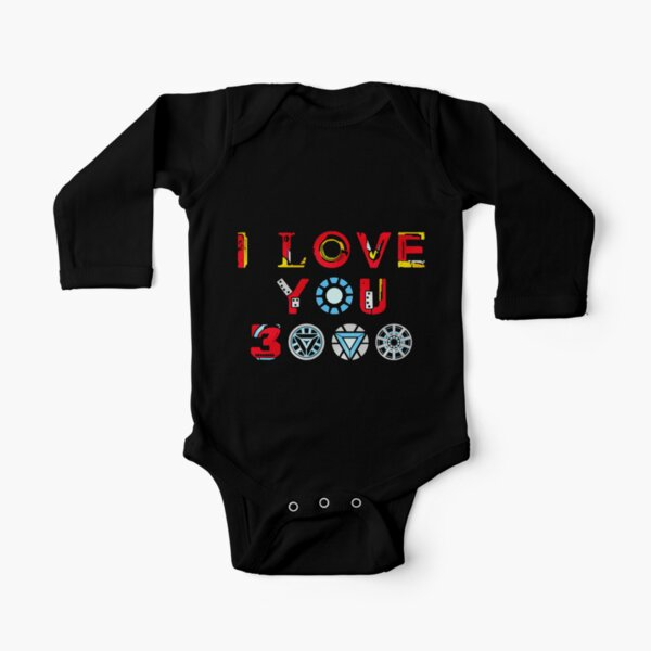I Love You 3000 v3 Long Sleeve Baby One-Piece