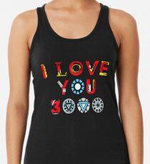 Camiseta con espalda nadadora Te amo 3000 v3