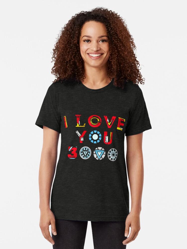 Alternative Ansicht von Ich liebe dich 3000 v3 Vintage T-Shirt