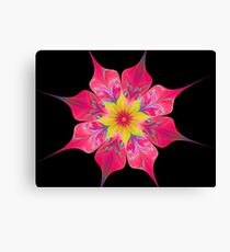 Song of a Flower Canvas Print