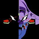Unit EVA-01 Berserk Mode by SkullJoke