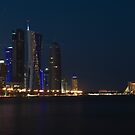 West Bay, Doha by Leigh Evans