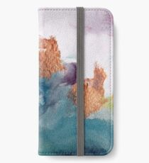 Abstract Birth iPhone Wallet/Case/Skin