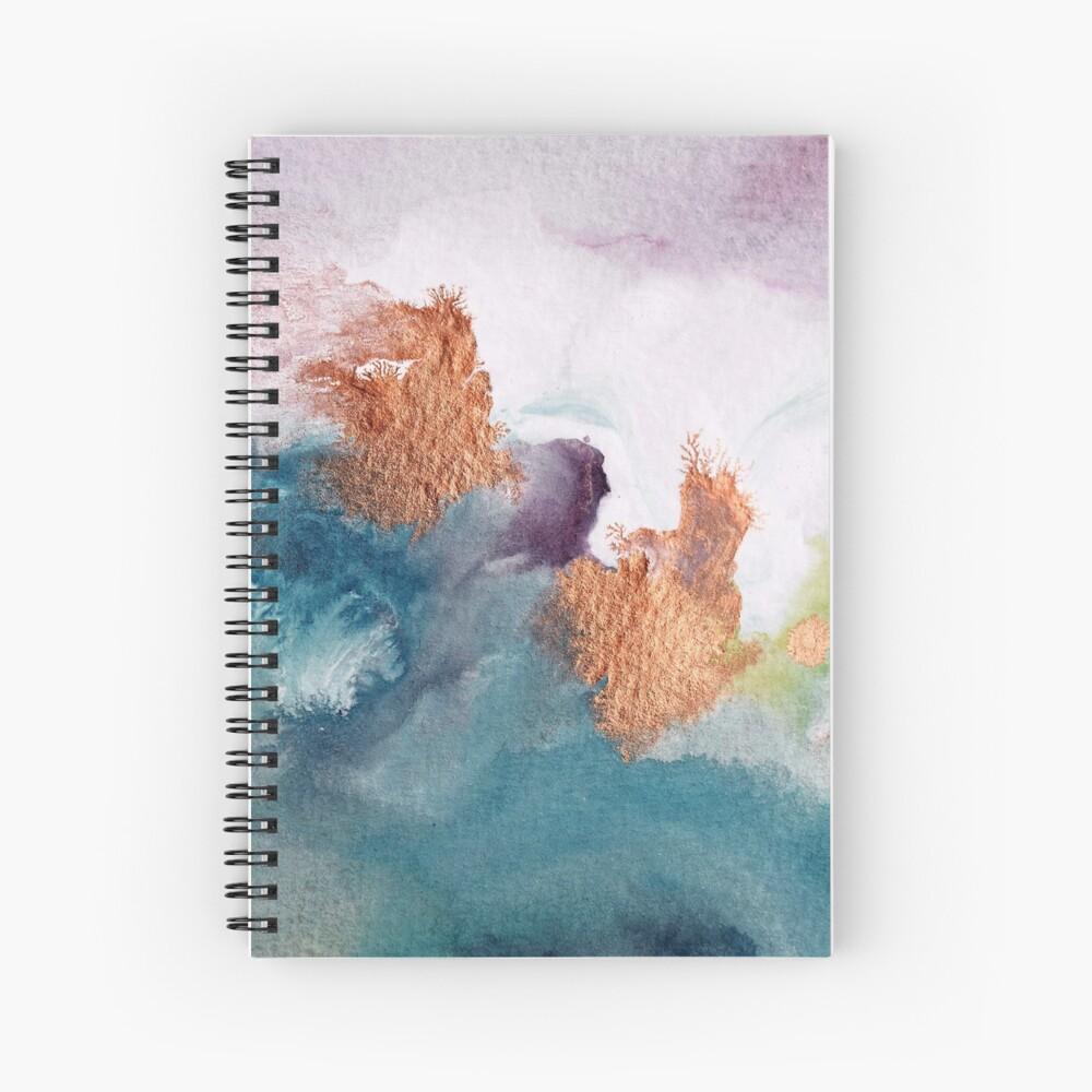 Abstract Birth Spiral Notebook