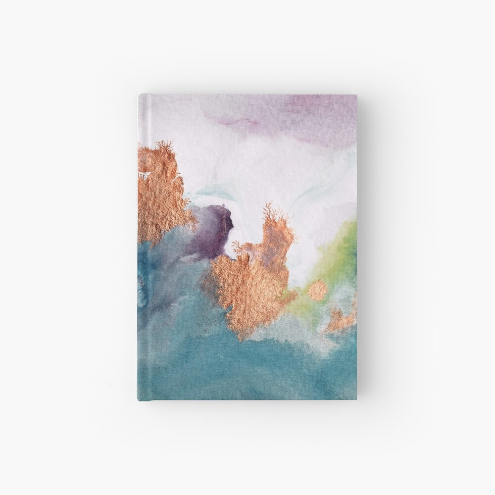 Abstract Birth Hardcover Journal