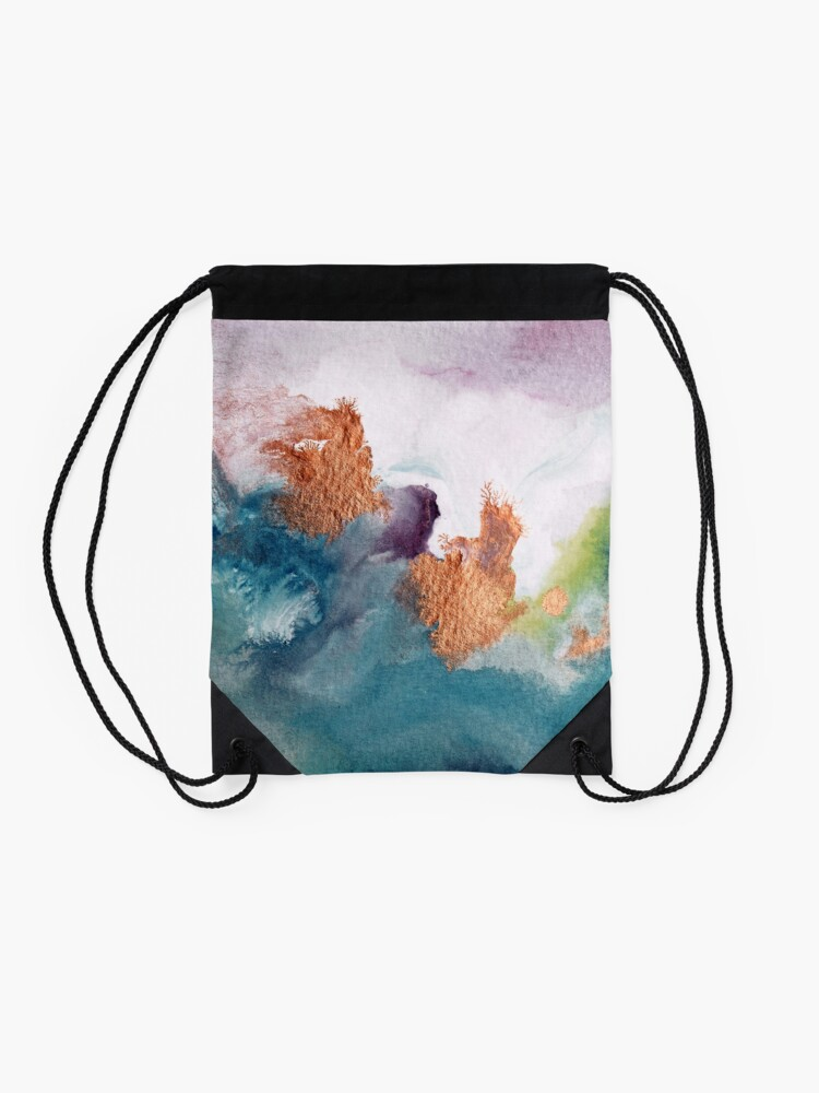Alternate view of Abstract Birth Drawstring Bag