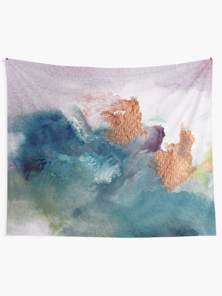Alternate view of Abstract Birth Wall Tapestry