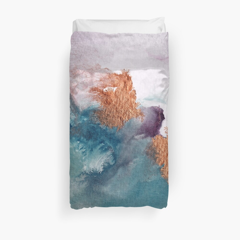 Abstract Birth Duvet Cover