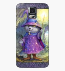 Purlin the Grey - wizard cat Case/Skin for Samsung Galaxy