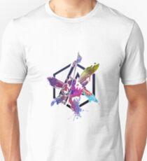 Hybride Theorie Kunst Design Slim Fit T-Shirt