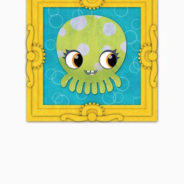 Octopus in a Frame! by orangepeel
