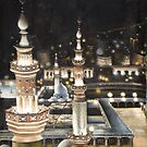 the mosque by Lubna